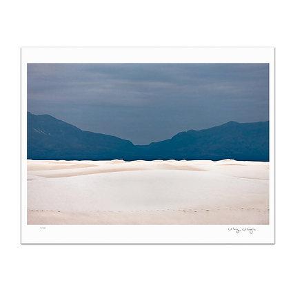 White Sands Dunes Print