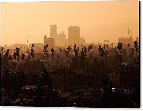 Late Afternoon Over Hollywood