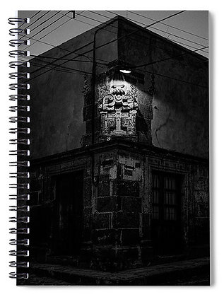 The Corner of Pila Seca Notebook