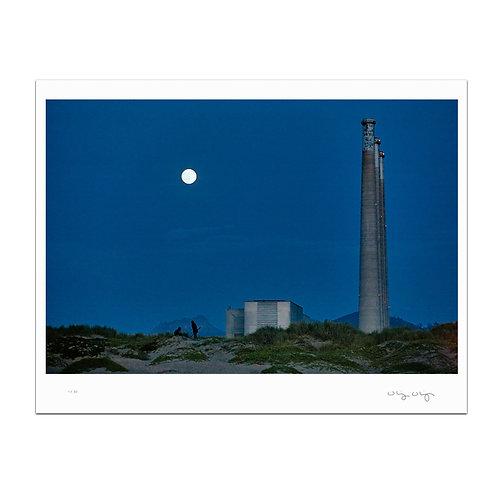 Blue Moon at Morro Bay