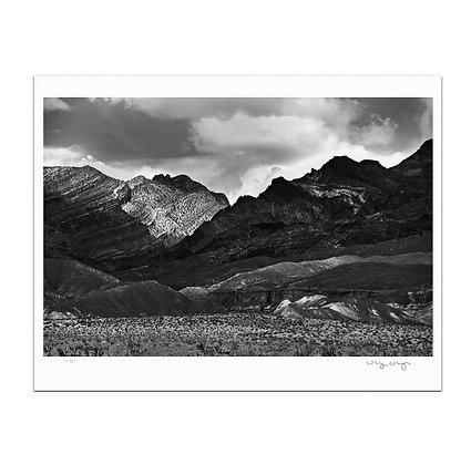 Textured Valley Print