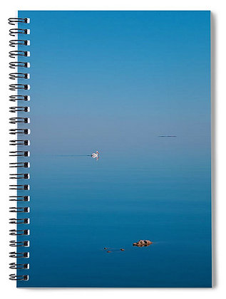 Lone Swan Notebook