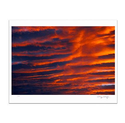 Cloud Rolls Print