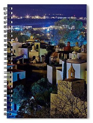Vista Over El Caracol Notebook