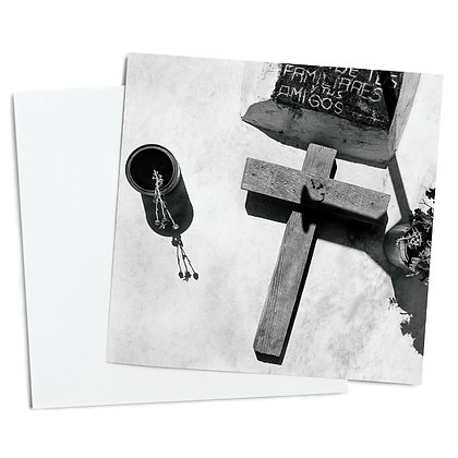 Country Grave Greeting Card