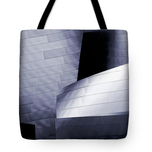 Metal Panel Tote Bag