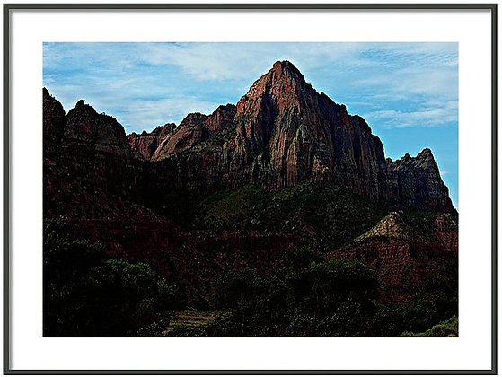 Zion Peak And Valley