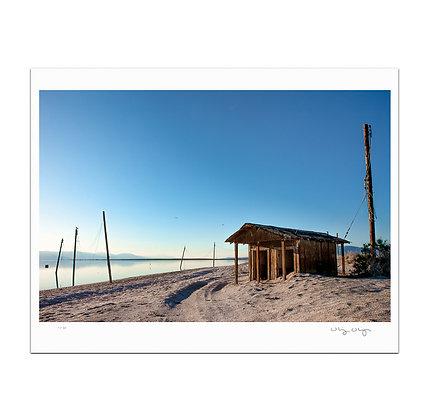 Salton Sea Shack Print