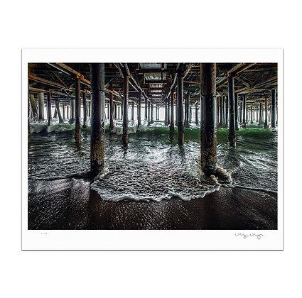 Under The Boardwalk Print