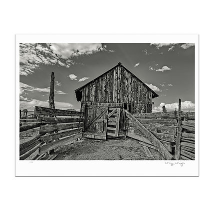 Emery Corral Stable Print