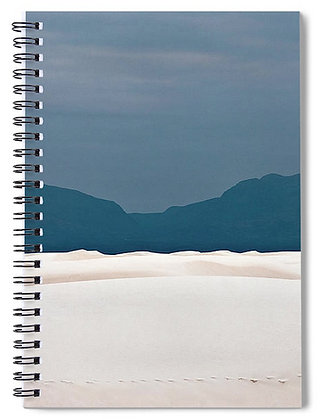 White Sands Dunes Notebook