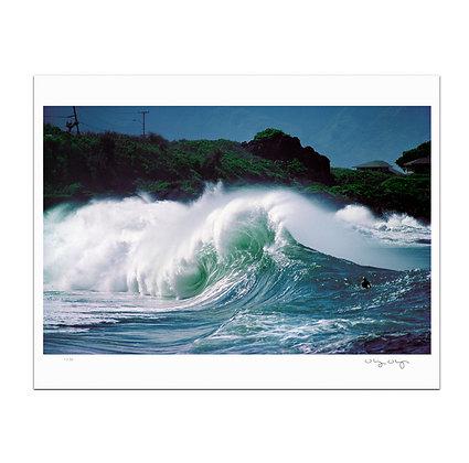 Waimea Shorebreak Print