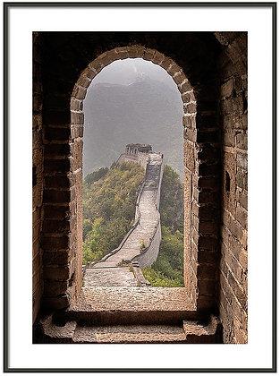 Great Wall Doorway Framed