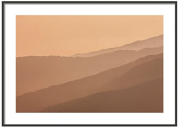 Malibu Ridges Framed