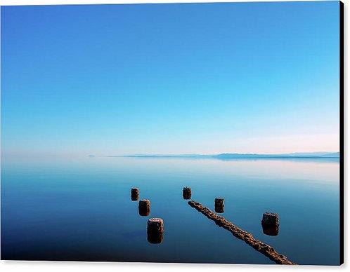 Jetty at Salton Sea