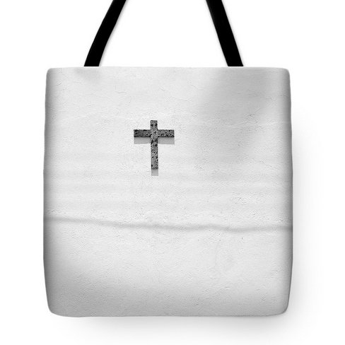 Crusifix in the Sun Tote Bag