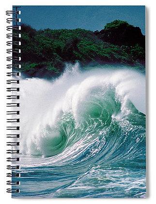Wiamea Shorebreak Notebook
