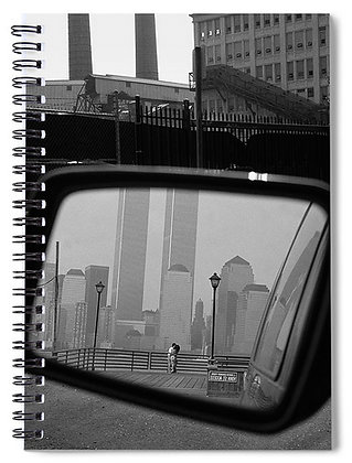 Twin Tower Lovers Notebook