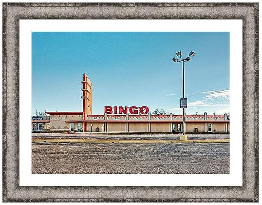 Bingo On Fredricksburg Custom Framed