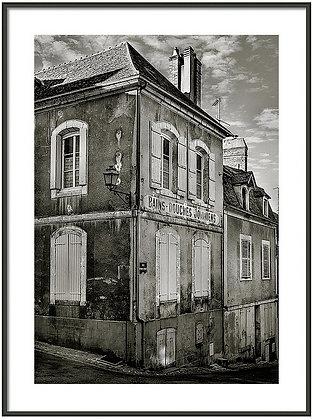 Old Town Joigny 1 Framed