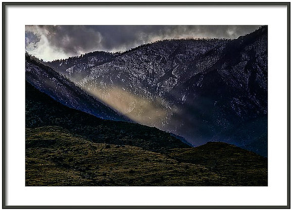 Light In The Valley Framed