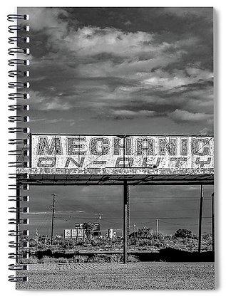Mechanic On Duty Notebook