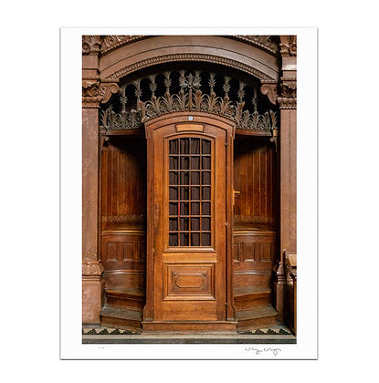 Lyon Confessional Print
