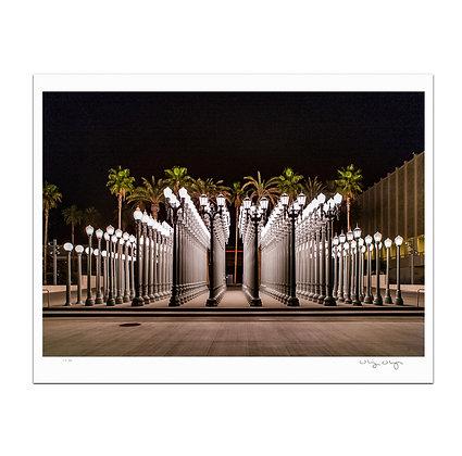 LACMA Lamps Print