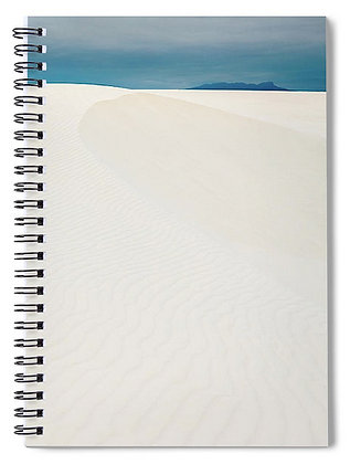 Dunes At White Sands Notebook