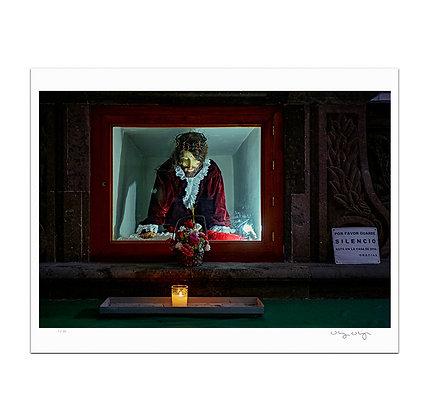 Jesus On Display Print