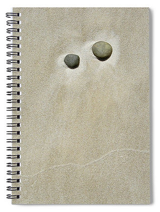 Pebbles In The Sand 2 Notebook