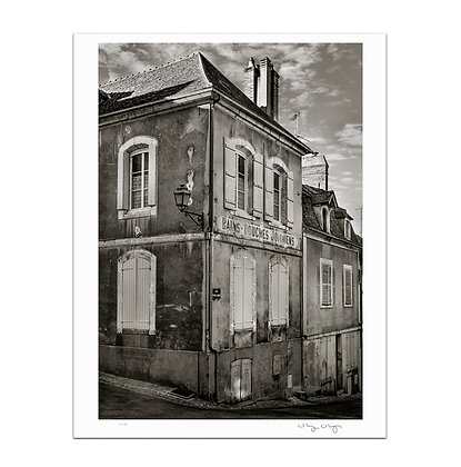 Old Town Joigny 1 Print