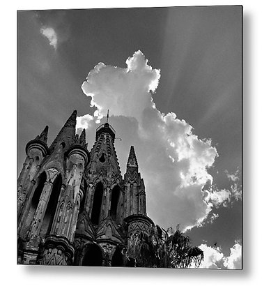 In The Shadow Of The Sun Metal Print