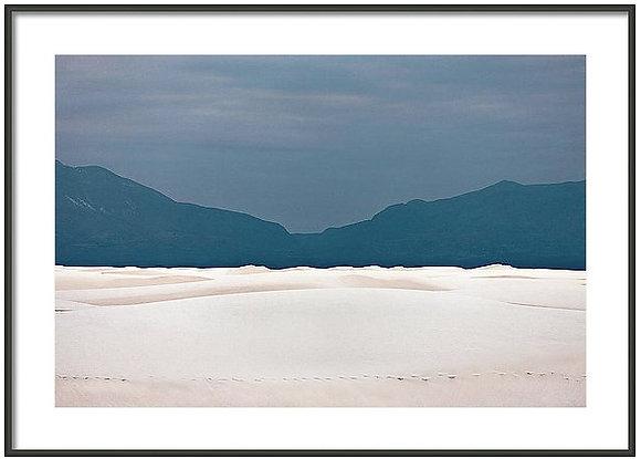 White Sands Dunes Framed