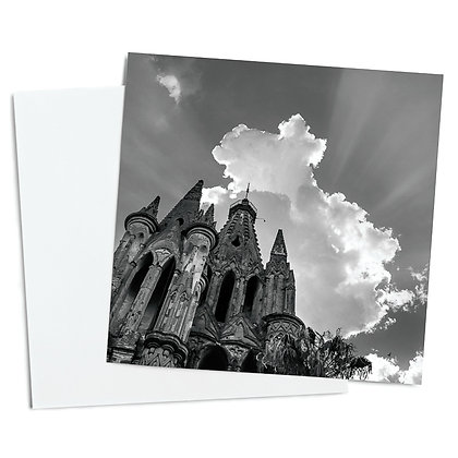 In The Shadow Of The Sun Greeting Card