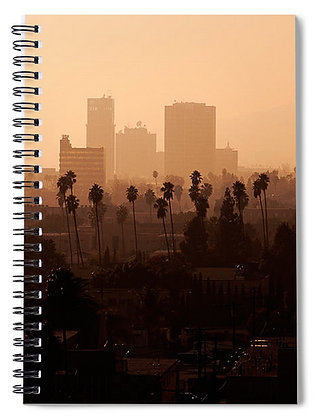 Late Afternoon Over Hollywood Notebook