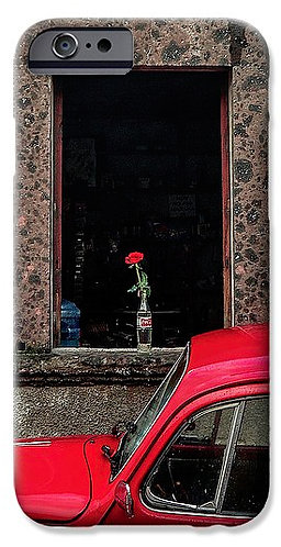A Single Rose phone case
