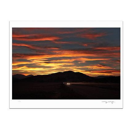 Desert Road Print