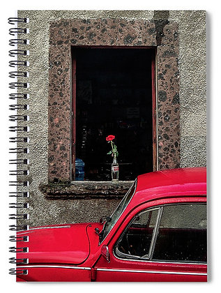 A Single Rose Notebook