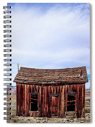 Shack in the Snow Melt Notebook