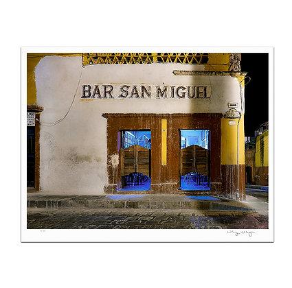 Bar San Miguel Print