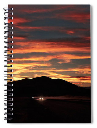 Desert Road Notebook