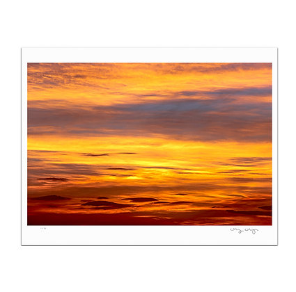 Settled Skies Print