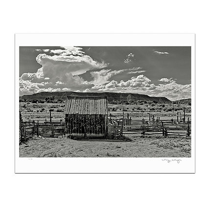 Emery Corral Shed Print