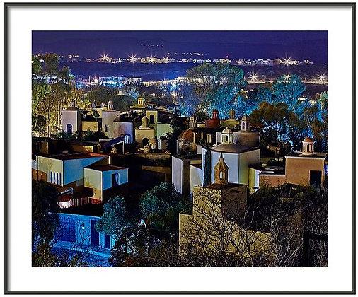 Vista Over El Caracol Framed