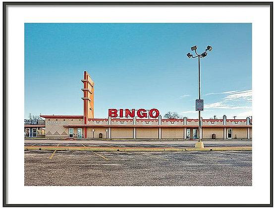 Bingo On Fredricksburg Framed