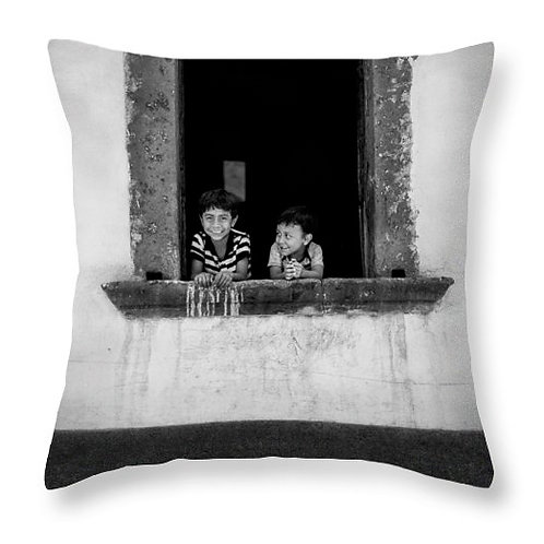 Brothers in the Window Pillow