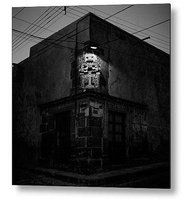 Corner Of Pila Seca Metal Print