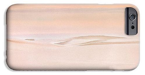 Dawn at White Sands phone case