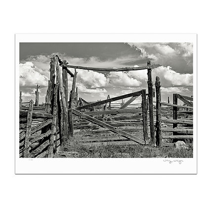 Emery Corral Gate Print
